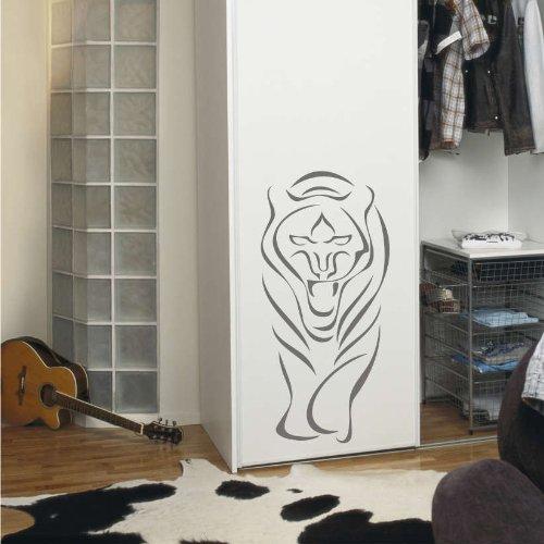 Imagen 2 de Etiqueta de la pared b002 rugido del tigre 96x45 cm