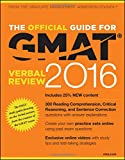 img - for The Official Guide for GMAT Verbal Review 2016 with Online Question Bank and Exclusive Video book / textbook / text book