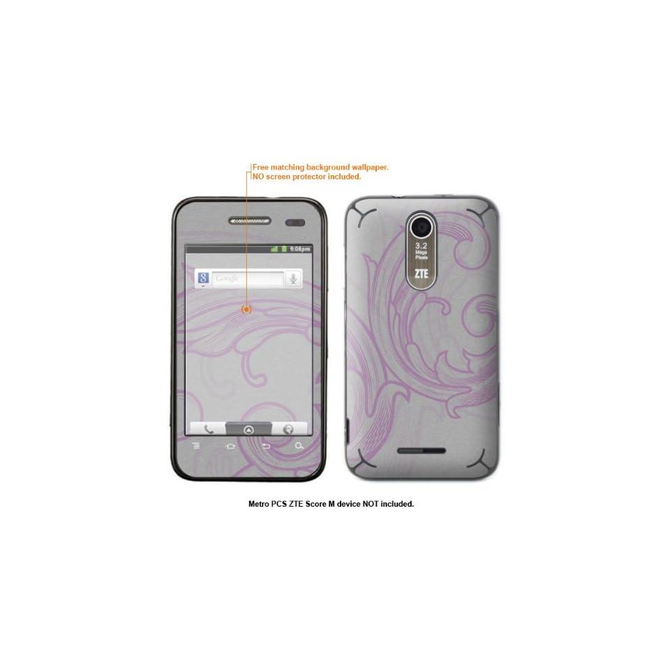 Protective Decal Skin Sticker for Metro PCS ZTE Score M case cover ZTEscoreM 239