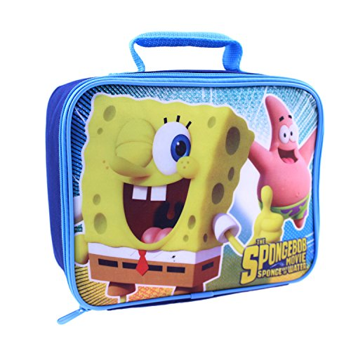 Global Design Concepts SpongeBob and Patrick Lunch Kit, Blue - 1