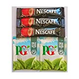 50 PG Tips and 50 Nescafe Original - Individually Wrapped Portions