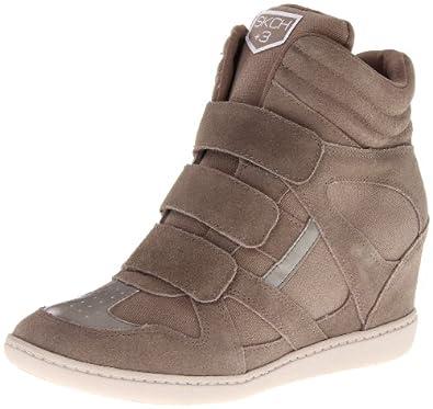 Skechers Women's Plus 3-Raise The Bar Fashion Sneaker,Dark Taupe,8 M US