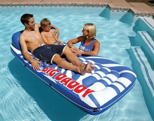 Poolmaster Big Daddy Ladder Mattress (Pack of 2) by Poolmaster bestellen