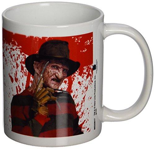 A Nightmare on Elm Street - Tazza in ceramica con Freddy Krueger