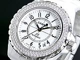 CHANEL シャネル 腕時計 J12 ダイヤ レディース H0969 バンド調整キット付 クーポン付