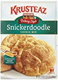 Krusteaz Bakery Style Snickerdoodle Cookie Mix, 17.5-Ounce Boxes (Pack of 12)