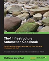 Chef Infrastructure Automation Cookbook Front Cover