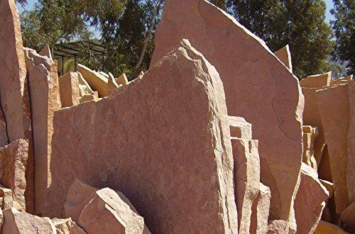 reptile-terrarium-aquarium-natural-sandstone-flagstone-ledge-rock-red