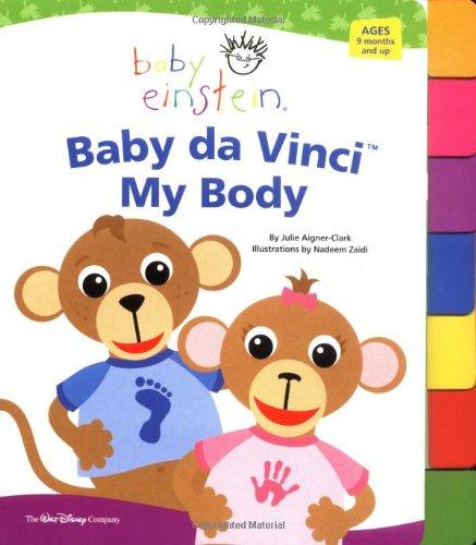Baby Einstein: Baby Da Vinci - My Body (Tabbed Board Book)