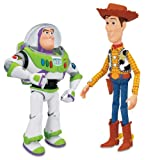 Toy Story Interactive Buzz and Woody Figure Playset