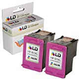 LD © Remanufactured Replacements for Hewlett Packard CC564WN (HP 61XL) Set of 2 High Yield Tri-Color Ink Cartridges for use in the following HP Deskjet, ENVY e-all-in-one, and OfficeJet printers: 1000, 1010, 1050, 1051, 1055, 1056, 1512, 2050, 2510, 2512, 2540, 3000, 3050, 3050A, 3051A, 3052A, 3054, 3056A, 3510, 3511, 3512, 3516, 4500, 4632, 5530, 4630, 4635 ~ LD Products