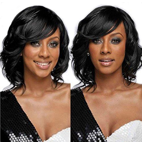 Nicewig 150 Density Virgin Brazilian Weavy Body Wave Wig 100 Gluless Human Hair Bob Cut Wig Lace Front Wis for Balck Womenr 12