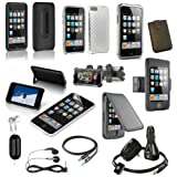 15-Item Accessory Bundle for Apple iPod Touch 2G and 3G ~ DLO