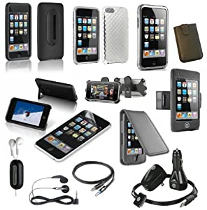 15-Item Accessory Bundle for Apple iPod Touch 2G and 3G