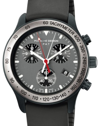 Porsche Design Quartz Chrono Titanium Ladies Watch 6611.14