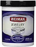 Weiman Jewelry Cleaner with Brush, 7-Ounce
