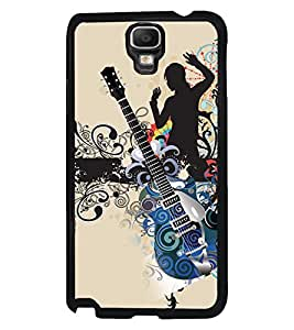 PRINTVISA The Embarasing Girl Premium Metallic Insert Back Case Cover for Samsung Galaxy Note 3 Neo - N7505 - D5775