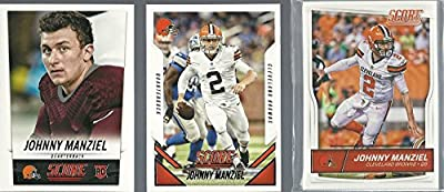 2014 2015 & 2016 Panini Score Football Cleveland Browns 3 Team Set Lot 43 Cards W/Rookies