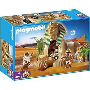 Amazon.com: Playmobil 4242 Romans Egyptians Set Sphinx with Mummy