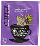 Clipper Organic Infusion Blackcurrant and Acai Berry Enveloped 250 Teabags 625 G