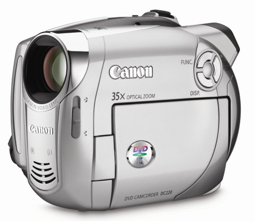 Canon DC220 DVD Camcorder with 35x Optical Zoom