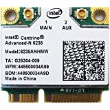 Intel Centrino Advanced-N 6235 802.11a/b/g/n 最大リング300Mbps WIFI + BlueTooth 4.0 Combo Card (6235ANHMW)