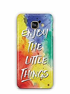 YuBingo Enjoy The Little Things Designer Mobile Case Back Cover for Samsung Galaxy A3 2016