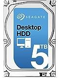 Seagate シーゲイト 内蔵 ハードディスク Desktop HDD 3.5 インチ 5TB ( SATA 6Gb/s / 7200rpm / 128MB ) 大容量 国内正規品 【オリジナル茶箱梱包】 ST5000DM002 -SWT