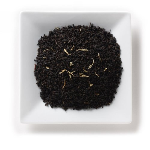 Mahamosa Flavored Black Tea Blend And Tea Infuser Set: 2 Oz Passion Fruit Basic Black Tea, 1 Stainless Steel Tea Ball Infuser (Bundle- 2 Items)(Tea Ingredients: Black Tea, Marigold Flowers, & Passion Fruit Flavor )