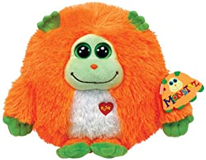 Ty Monstaz Chester Plush Toy, Orange/Green, Large