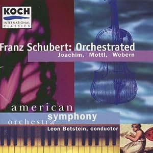 Franz Schubert: Orchestrated