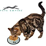 Pets Empire Anti-skid Stainless Steel Coated Pets Cats Dogs Bowl Food Water Bowl Medium(900 Ml)- Color And Print May Vary