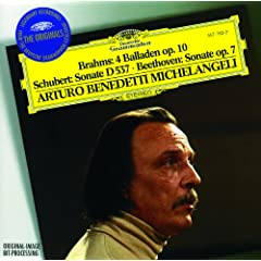 Brahms: 4 Ballades, Op.10 - No.2 in D