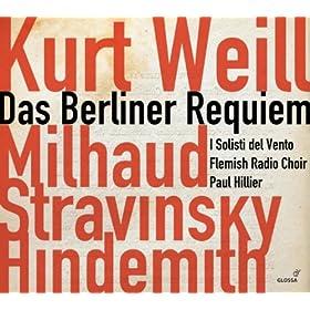 Das Berliner Requiem: Grosser Dankchoral (Great Thanksgiving Chorale)