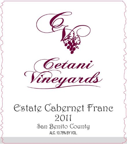 2011 Cetani Estate Cabernet Franc 750 Ml