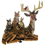 Reindeer with Forest Friends Figure