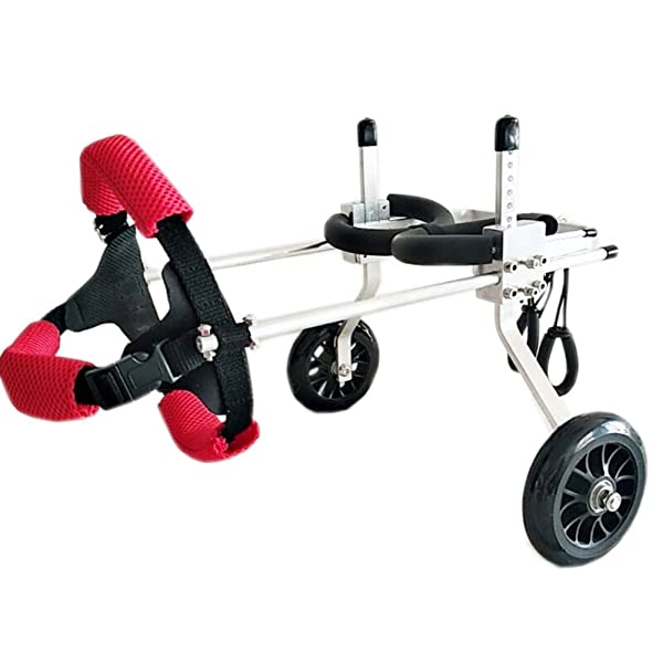 LXJYMX Pet Prosthesis Dog Wheelchair Rear Limb Disability ?? pet Scooter hind Leg Assist (Color : A, Size : XS) (Color: A, Tamaño: XS)