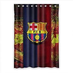 Needyou Fashion FC Barcelona Polyester Window Curtain 52\