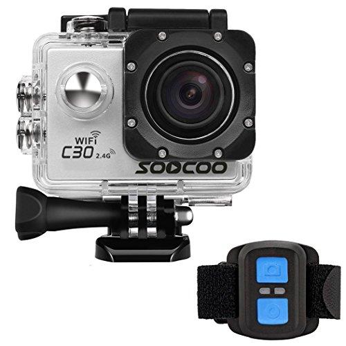 4k Action Camera, SOOCOO Sport Camera UHD WIFI