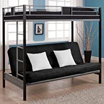 Big Sale Dorel Home Products Silver Screen Twin/Futon Bunk Bed