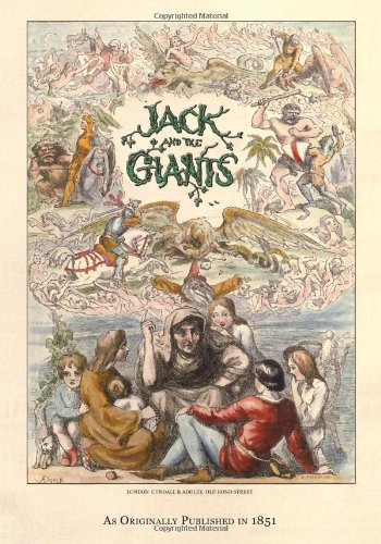Large book cover: The Story of Jack and the Giants