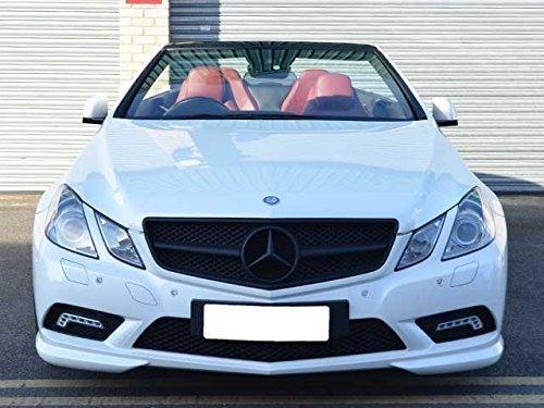 Mercedes W207E-Klasse Coupe Cabriolet Sport-Kühlergrill komplett matt schwarz