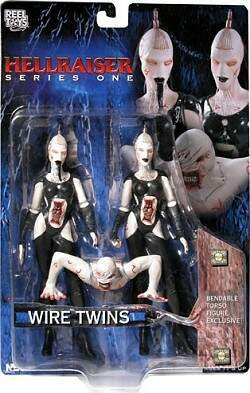 Picture of NECA Hellraiser Wire Twins Action Figure 2-Pack (B0006HIZJK) (NECA Action Figures)