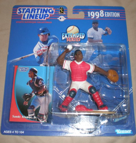 1998 Sandy Alomar Jr. MLB Baseball Starting Lineup Figure - 1