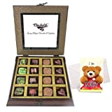 Titillating Collection Of Beautiful Chocolates With Sorry Card - Chocholik Belgium Chocolates