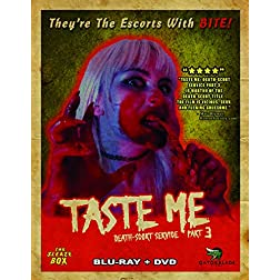 Taste Me: Death-Scort Service Part 3 [Blu-ray]