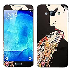 Theskinmantra Fantasies Of a women Samsung Galaxy A8 mobile skin
