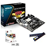 Sedatech Upgrade Bundle (AMD A4-5300 FM2 2x3.40Ghz, 8Gb RAM, ATI Radeon HD7480D, Motherboard Asrock FM2A75M-DGS, USB 3.0, Full HD 1080p)