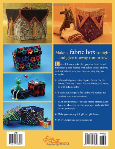 Fun, Fast and Easy Fabric Boxes: 8 Great Designs - Unlimited Possibilities