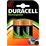 DURACELL Rechargeable C Battery 2 pack